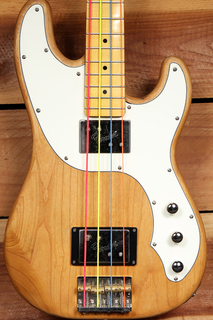 FENDER TELECASTER P-BASS Modern Player Custom Natural Finish Tele 02858