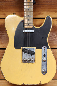 FENDER ROAD WORN 50s TELECASTER Best Around - Read Descrip Blonde TV Relic 86102