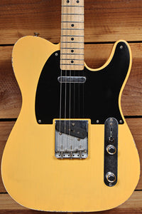 FENDER 2017 ROAD WORN 50s TELECASTER RARE TV Yellow Mild Relic + Bag/Tags 33359