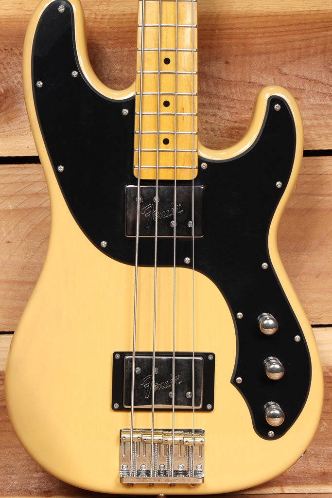 FENDER TELECASTER BASS Modern Player Butterscotch Blonde Tele + Case 08279