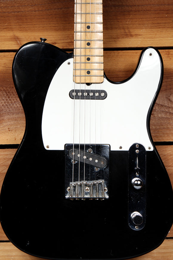 FENDER 1984 TELECASTER MIJ RARE Toploader! Black Tele Relic Made in Japan 24023