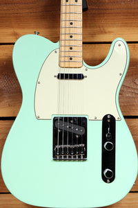 FENDER FSR 2009 TELECASTER Surf GREEN Matched Head Tele Plus Case! 94778