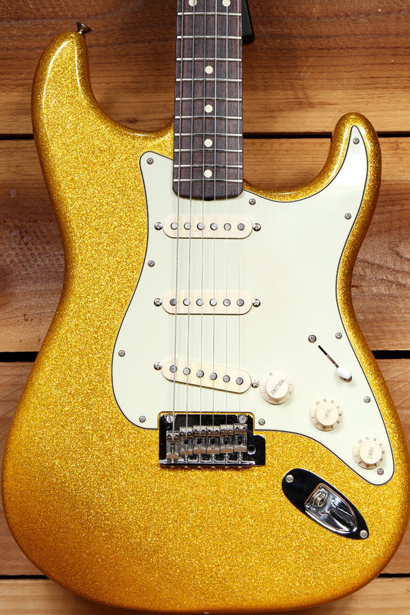 FENDER Custom Shop CLASSIC PLAYER 60s Stratocaster Vegas Gold Clean Strat 97254