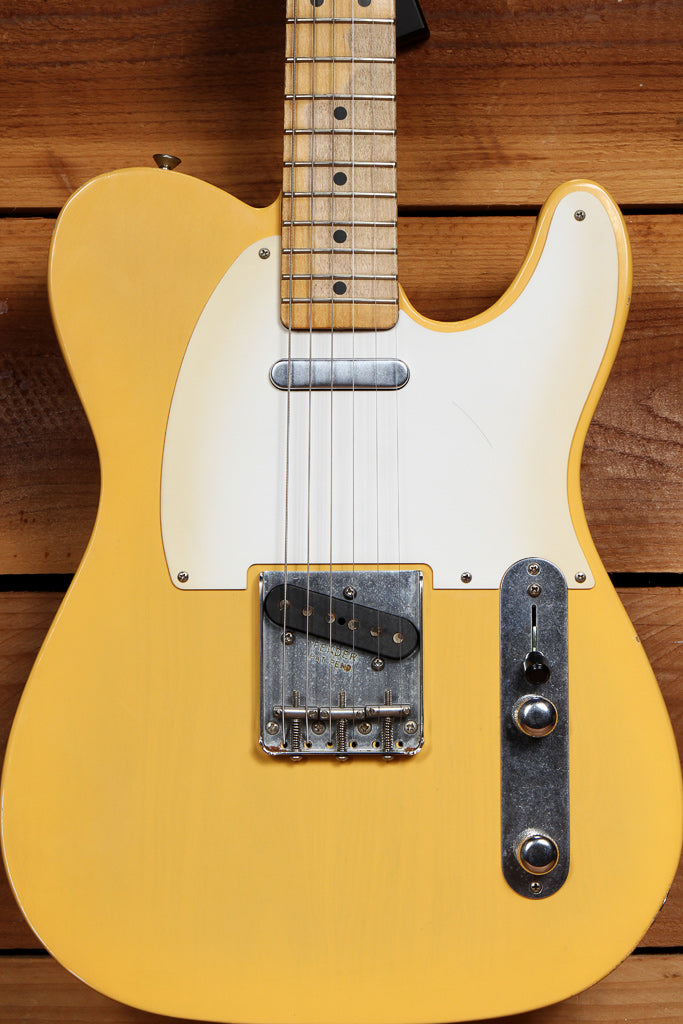 FENDER 2010 ROAD WORN 50s TELECASTER RARE TV Yellow Best Blonde Tele Relic 90773