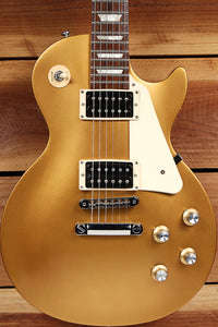 GIBSON 2016 LES PAUL 50s TRIBUTE T Goldtop Worn Satin Relic Sweet! 29626