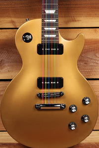GIBSON 2013 LES PAUL 50s TRIBUTE T p90 Goldtop Worn Satin Relic 31644