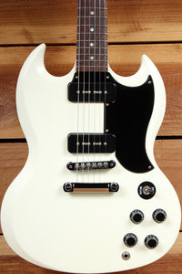 GIBSON SG SPECIAL 60s TRIBUTE Ltd Run 2011 Dual P90 PU Satin Worn White 10434
