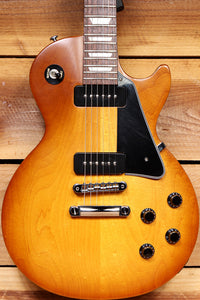 GIBSON LES PAUL STUDIO 60s TRIBUTE T RARE Worn Cherry Burst! P90 USA Satin Relic 30876