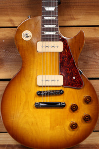 GIBSON 2011 LES PAUL 60s TRIBUTE P90s Honey Burst Worn Satin Relic 10560
