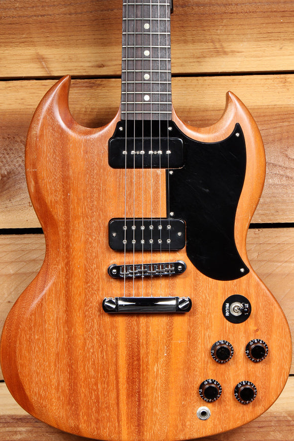 GIBSON SG SPECIAL 60s TRIBUTE Upgrades! 2011 Dual P90 PU Satin + Case HSC 10406