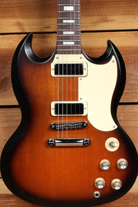 GIBSON SG SPECIAL 70s TRIBUTE T SATIN Sunburst Alnico mini-HB Clean! + Bag 07130