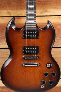 GIBSON SG SPECIAL 70s TRIBUTE T SATIN Sunburst Dirty Fingers PU Clean! 31423