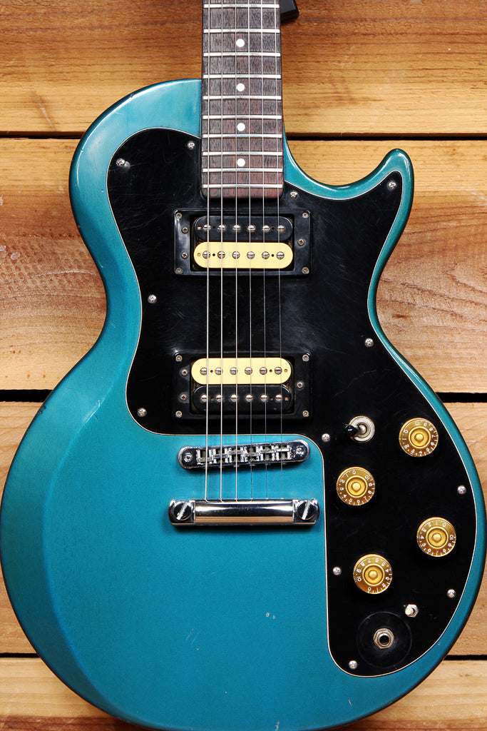 GIBSON GGC-700 PELHAM BLUE +HSC 1981 Super Sonex Set Neck Dirty Fingers 51586