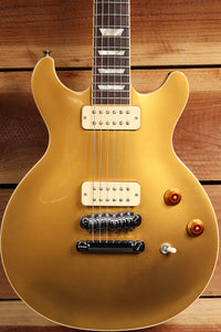 GIBSON USA 2011 LES PAUL DOUBLE CUTAWAY DC CUT GOLDTOP + OHSC & Upgrades 0618