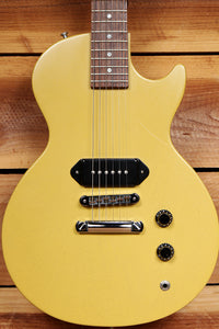 GIBSON 2004 MELODY MAKER Faded Nitro TV Yellow! Dog-Ear P90 Les Paul Jr 24601