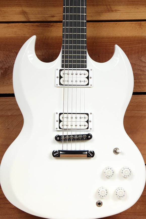 GIBSON SG BARITONE Super Clean! + OHSC & Papers Alpine White USA 31389