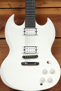 GIBSON SG BARITONE Nice! + OHSC & Papers Alpine White USA 31454