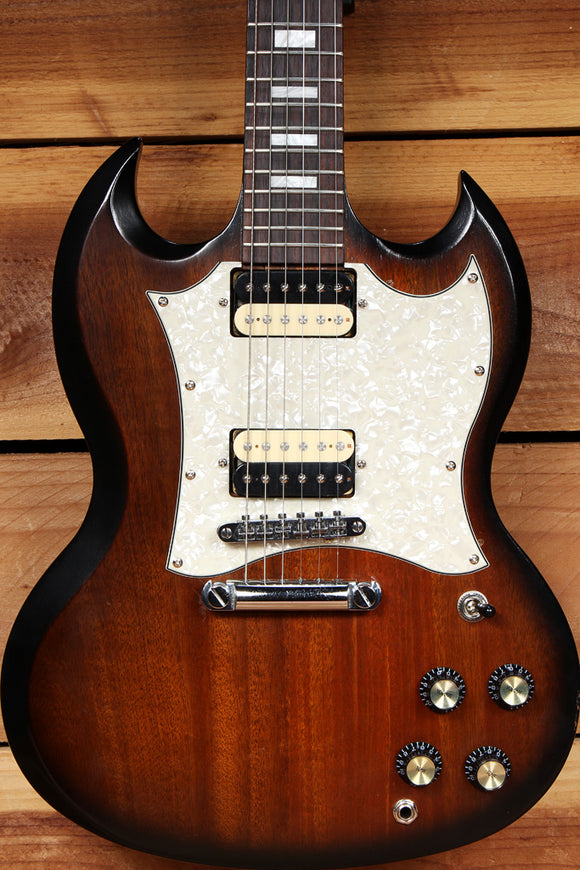 GIBSON SG SPECIAL T Sunburst Big Pickguard Zebra Humbuckers Block Inlay 94111