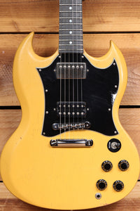 GIBSON 2004 SG SPECIAL Rare Worn TV Yellow PAF PU Ebony Board Faded Relic 54601