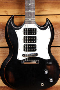 GIBSON SG3 SPECIAL FADED Black Relic 3 PICKUP 490 PU Tone Selector! 70577
