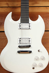 GIBSON SG BARITONE Super Clean! + OHSC & Papers Alpine White USA 31392