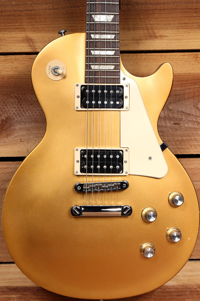 GIBSON 2016 LES PAUL 50s TRIBUTE T Goldtop Worn Satin Relic Gold Top 50500
