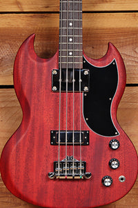 GIBSON SG BASS 2014 Cherry SHORT SCALE 4-STRING 7.5 Pound Axe Clean! 66702