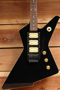 IBANEZ DESTROYER 1983 Vintage DT-155 X Series 3 Super 70 PUs Black MIJ 3033