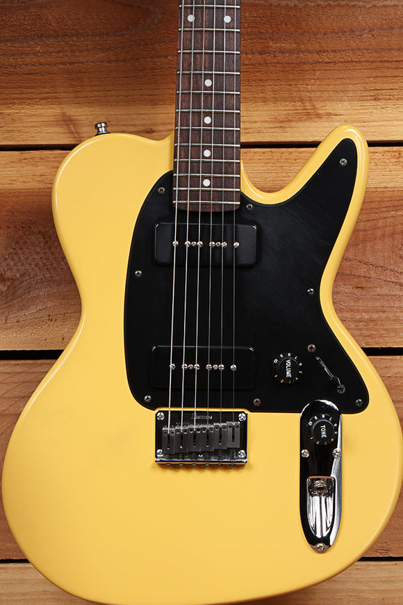 IBANEZ NOODLES TV YELLOW Dual P90s Offset Hardtail The Offspring NDM3 Nice 07581