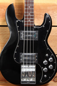 PEAVEY T-40 VINTAGE 1979 4-String USA  Bass in Black Ebony Toaster PUs 65312