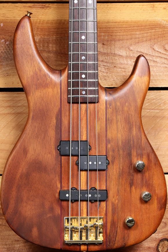 PEAVEY VINTAGE 1991 DYNA-BASS +OHSC KOA Wood Neck-Thru USA UNITY SERIES 40096