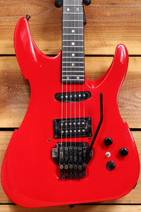 PEAVEY Vandenberg Vintage 1988 S1 +OHSC Rare! First Year! Sunfire Red! USA 01694