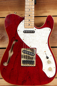 FENDER 1997 SQUIER PRO TONE TELECASTER THINLINE RARE KOREAN TELE 80061