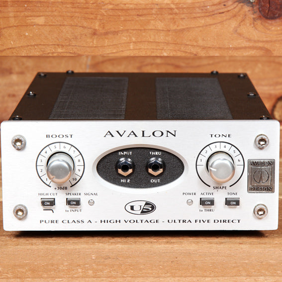 AVALON U5 Microphone Preamp DI Direct Box Class A Tube Pre Clean! 41244