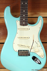 FENDER 60s Reissue Stratocaster RARE Cerulean Blue! 2015 Special Ed Clean! 1385
