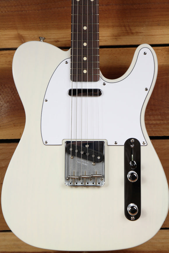 FENDER RARE White Blonde 50s Classic Series TELECASTER w Rosewood Board MIM 3331