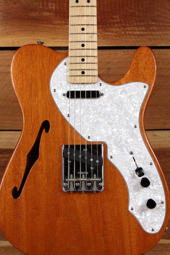 2007 FENDER 69 TELECASTER THINLINE Semi-Hollow F-Hole 6-Pound Tele! 1434