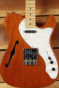 FENDER 69 TELECASTER THINLINE Semi-Hollow F-Hole 6-pound Natural Tele! 4116