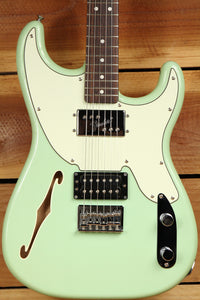 FENDER 72 Surf Green PAWN SHOP Stratocaster Telecaster f-Hole Japan MIJ 8655