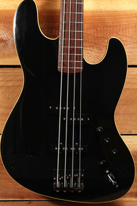 FENDER AERODYNE JAZZ BASS Very Sweet 4-String Japan J-Bass Black Ebony 3219