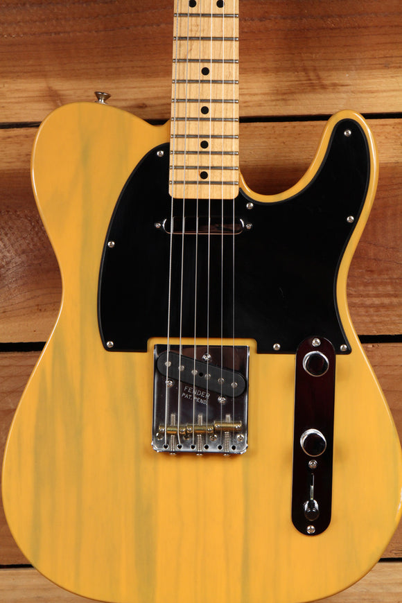 FENDER Deluxe Ash FSR TELECASTER BUTTERSCOTCH BLONDE Clean! Ashtray Tele 2773