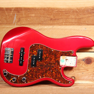 FENDER USA P-BASS Loaded BODY Candy Apple Red 1997 American Precision 19459