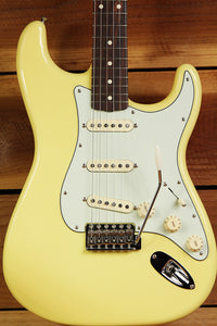 FENDER Mint Canary CLASSIC PLAYER FSR OHSC 60s STRATOCASTER Yellow Strat 6660