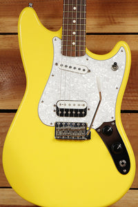 FENDER CYLCONE Rare Graffiti Yellow Made in Mexico + Tweed Hard Case