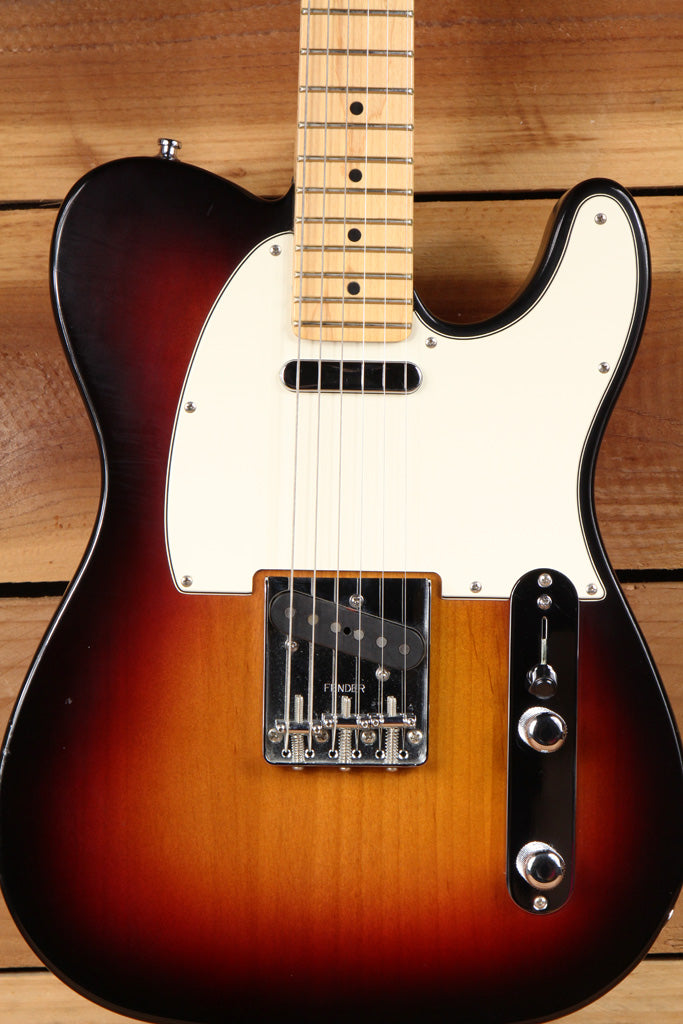 FENDER HIGHWAY ONE 1 TELECASTER Sunburst USA Clean! Nitro American TELE MIA 5957