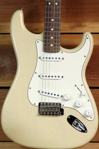 FENDER HIGHWAY ONE 1 STRATOCASTER Blonde Relic USA Nitro American STRAT MIA 6628