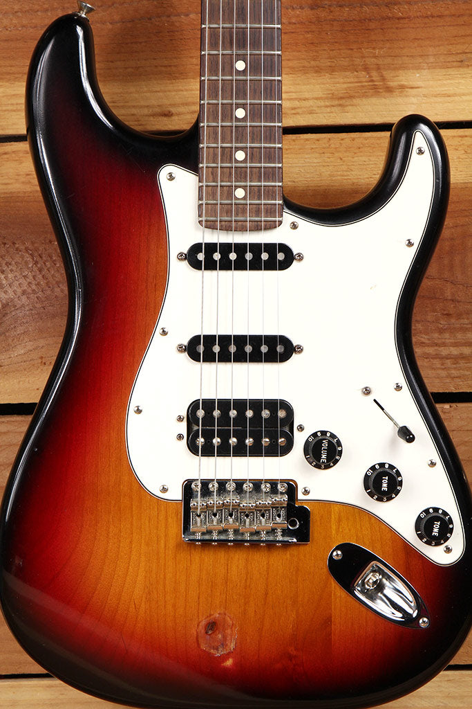 FENDER HIGHWAY ONE 1 STRATOCASTER HSS USA NITRO AMERICAN RED STRAT MIA 2195