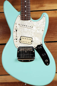 FENDER JAG-STANG Kurt Cobain Offset JagStang Clean! Sonic Blue Japan 3999