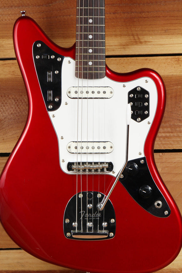 FENDER 1993-94 JAGUAR SPECIAL Crafted in Japan CIJ Candy Apple Red CAR 90s 3836