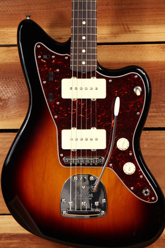 FENDER 2015 CLASSIC PLAYER JAZZMASTER SPECIAL + Bag Mint Sunburst Guitar 5012